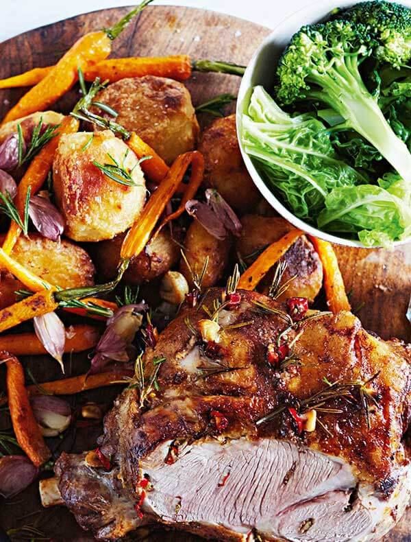 jamie s straight up roast lamb recipe woolworths