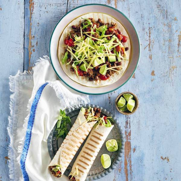 Dinner made easy woolworths beef bean burrito forumfinder Image collections